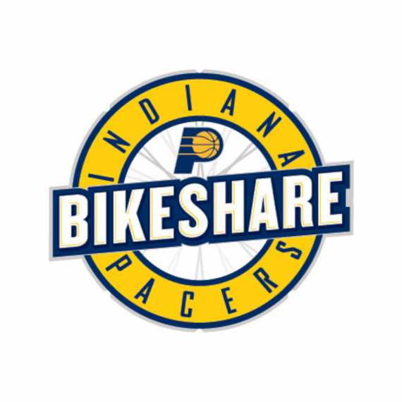 Indianapolis Pacers Bikeshare logo