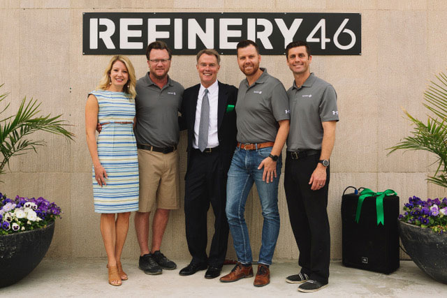 refinery46 ribbon cutting